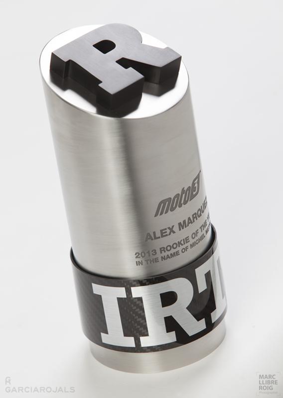 Garcia Rojals   You Win, We Design. Hand Made. Design studio in Barcelona. MotoGP trophy design.